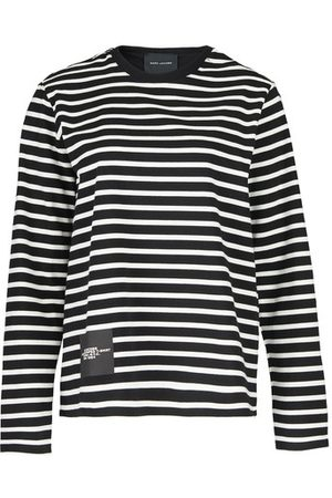 Marc Jacobs the Women Long Sleeve - The Striped T-Shirt