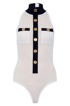 Balmain Monogram bodysuit