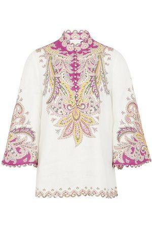 Zimmermann Teddy scallop blouse