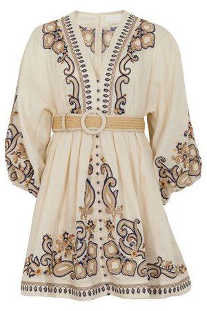 Zimmermann Aliane short dress
