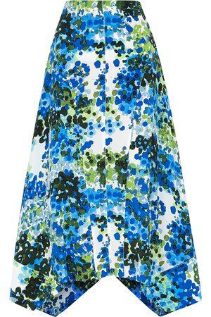 Stella McCartney Women Printed Skirts - Naya printed silk crepe de chine midi skirt