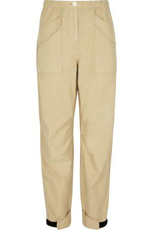 RAG&BONE Angela sand cotton cargo trousers