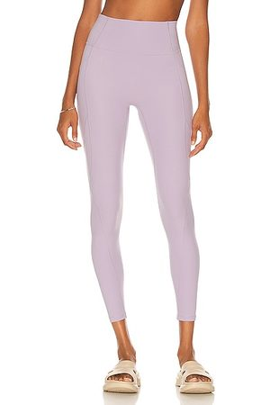 Le ORE High Rise Pocket Legging in Lavender