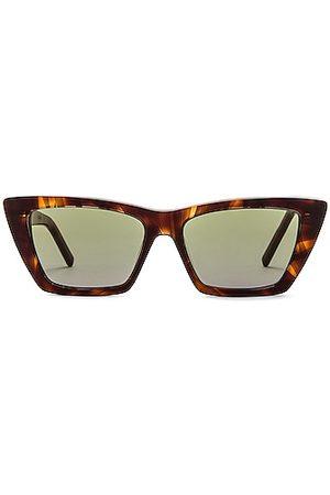Saint Laurent Mica Sunglasses in