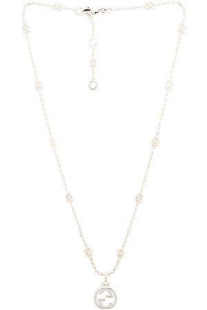 Gucci Interlocking G Necklace in Metallic