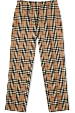 Burberry Checked Trouser