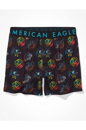 American Eagle Outfitters O Neon Icons Flex Boxer Short Men's XS