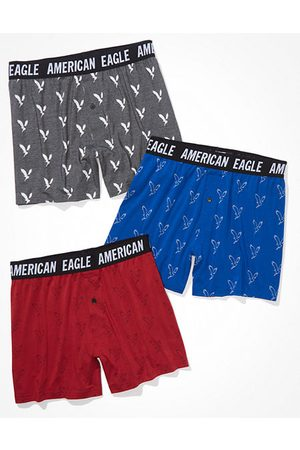 American Eagle Outfitters O Ultra Soft Boxer Short 3-Pack Men's XS