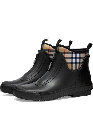 Burberry Men Rain Boots - Checked Rain Boot