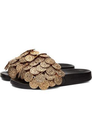 Paco rabanne Men Sandals - Tresor Coin Slides