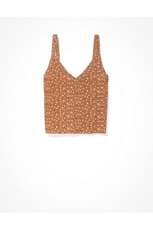 American Eagle Outfitters Printed V-Neck Cami Women's XXS