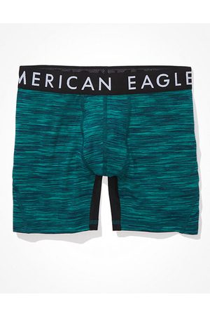 American Eagle Outfitters O Space Dye 6 Flex Boxer Brief Men's S