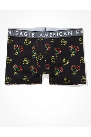 American Eagle Outfitters O Neon Animals 4.5 Classic Boxer Brief Men's XS