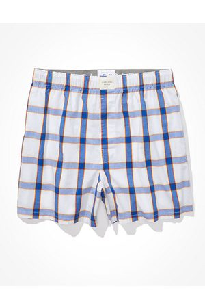 American Eagle Outfitters O Plaid Stretch Boxer Short Men's XS
