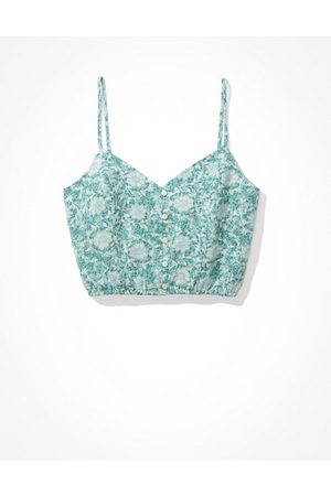 American Eagle Outfitters Printed Crop Cami Women's XXL