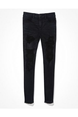 American Eagle Outfitters Forever Soft Ripped Jegging Women's 2 Long