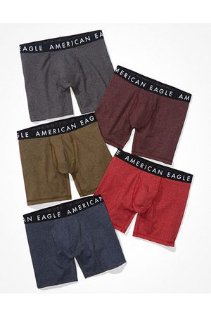 American Eagle Outfitters O 6 Classic Boxer Brief 5-Pack Men's S