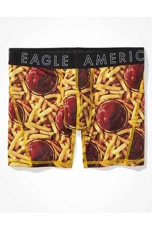 American Eagle Outfitters O Fries 6 Flex Boxer Brief Men's XS
