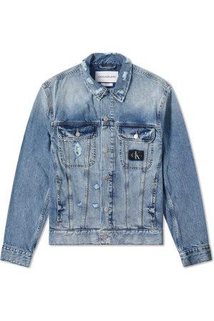 Calvin Klein Men Denim Jackets - Classic 90s Denim Jacket