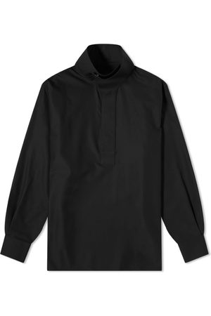 Givenchy Men Casual - Funnel Neck Oversized Shirt