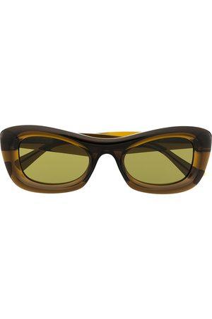 Bottega Veneta BV1088S rectangular-frame sunglasses