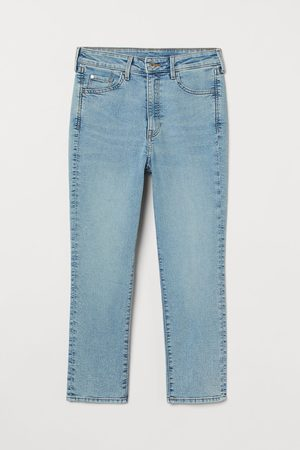 H&M Women High Waisted - Skinny High Cropped Jeans