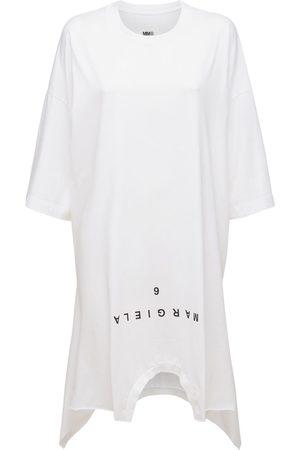 MM6 MAISON MARGIELA Women Casual Dresses - Double T-shirt Jersey Mini Dress