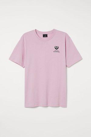 H&M Men T-shirts - Regular Fit Printed T-shirt