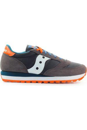 Saucony Men Sneakers - Low Men Grey Nylon / Camoscio