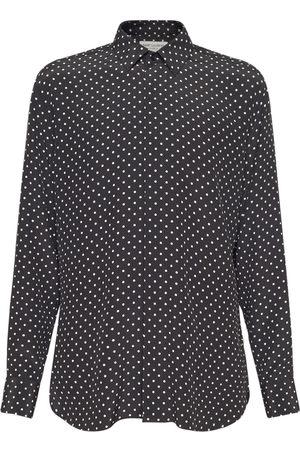 Saint Laurent Yves Silk Shirt