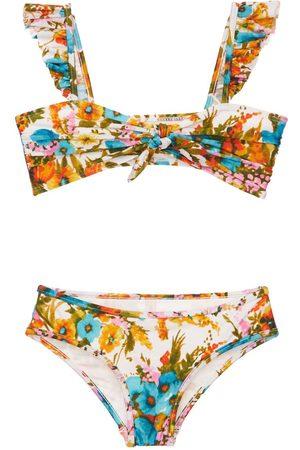 ZIMMERMANN Flower Print Bikini