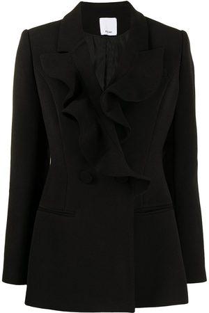 Acler Fairmont ruffle-trim suit jacket