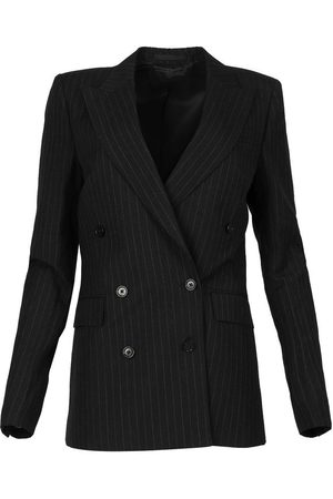 BLK DNM Women Blazers - Blazer 6, Pinstripe Linen