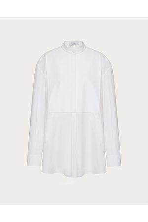 VALENTINO Women Tops - Cotton Poplin Top Women Optic Cotton 100% 36