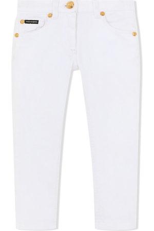 Dolce & Gabbana Kids Mid-rise skinny jeans