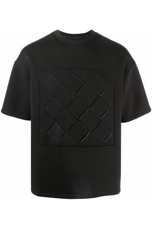 Opening Ceremony Men T-shirts - WEAVINGBOX BONDED REG.T-SHIRT GREY