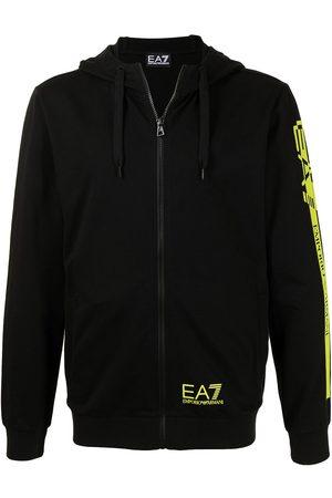 EA7 Zip front hoodie