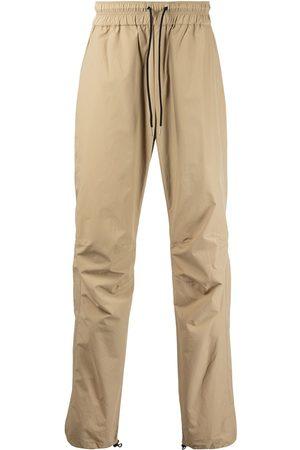 JOHN ELLIOTT Men Straight Leg Pants - Drawstring straight-leg trousers