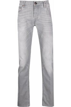 Hand Picked Orvie straight-leg jeans - Grey