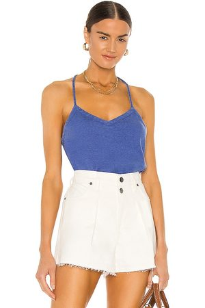 Chaser T Back Cami in Navy.