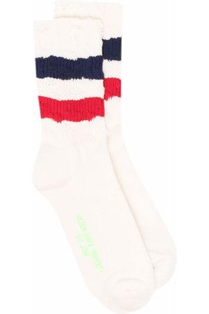 Golden Goose Socks - Stripe trim socks - Neutrals