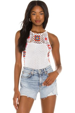 BCBGeneration Woven Tank in .