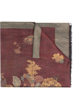 ETRO Floral-jacquard scarf