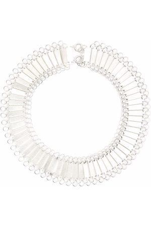 Jil Sander Protection sterling chain-link necklace
