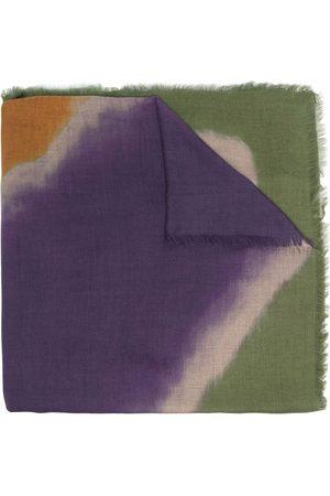 Etro Watercolour-effect cashmere scarf