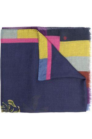 Etro Floral-print cashmere-blend scarf