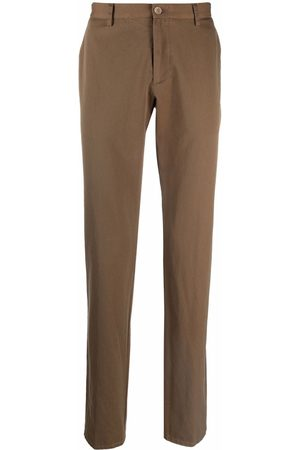 ETRO Men Chinos - Straight-leg cotton chinos