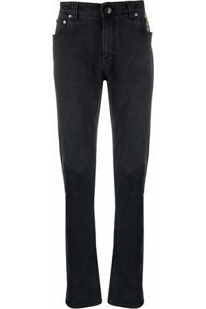 Etro Men Straight - Mid-rise straight-leg jeans