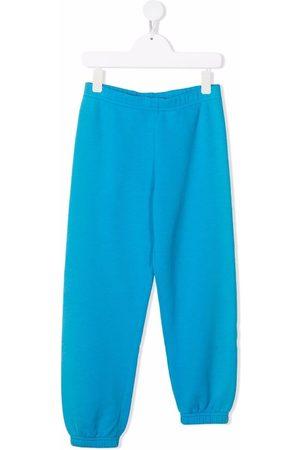ERL KIDS Boys Sweatpants - Asymmetric slim-fit track pants