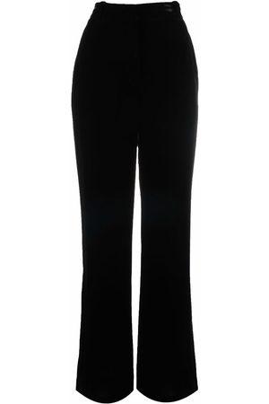 Alberta Ferretti Flared tailored trousers